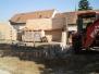Építkezés Kis iskola hozzáépülés 2013-2014 tanév vége